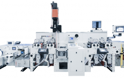 New Flexo' Machine With Inline Hot Melt Coating