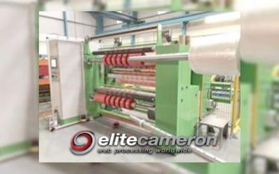 Elite Cameron Supplies New CW800 Slitter Rewinder to Tape Manufacturer