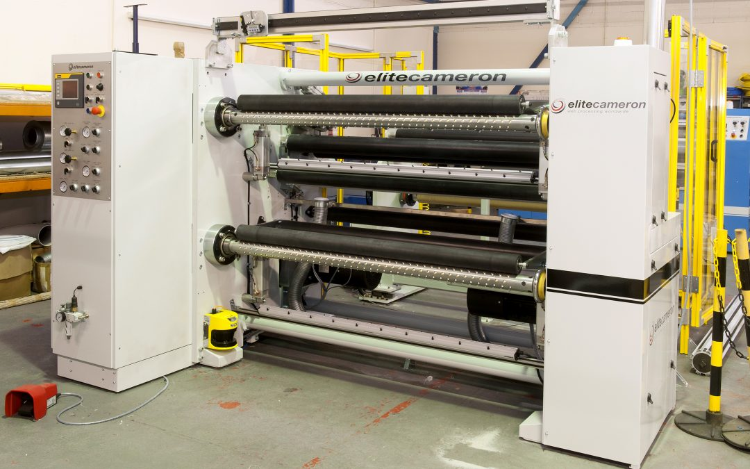 Elite Cameron, Inc. to Supply Two Custom Slitting Machines to a Mid-West Nonwovens Manufacturer