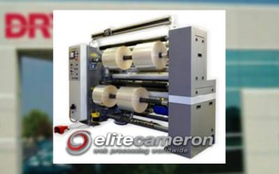 Drytac Purchases Elite Cameron CW800 Slitter Rewinder for Manufacturing Facility in Canada