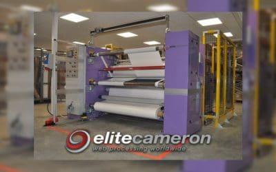 Allprint Supplies take delivery of new Elite Cameron Laminator Slitter Rewinder