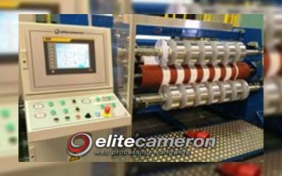 Elite Cameron supply three precision slitting machines for narrow widths